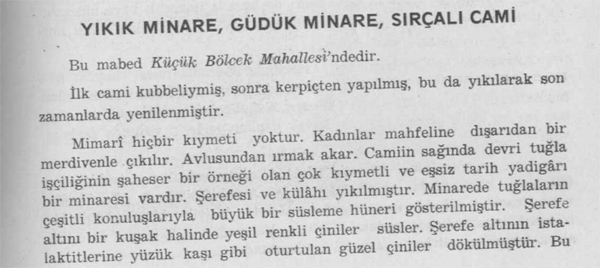 yikik-minare