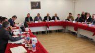 İlçe Milli Eğitim Müdürleri ile toplantı yapıldı
