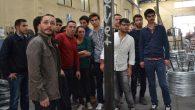 ASÜ öğrencileri OSB'deki fabrikaları gezdi