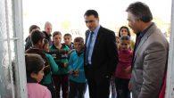 Eskil Kaymakamı okul ziyaretlerini sürdürüyor