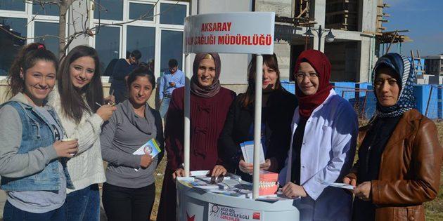 ASÜ öğrencileri ağız ve diş sağlığı konusunda bilgilendirildi