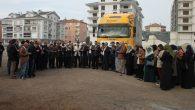 Aksaray'dan Suriye'ye insani yardım tırı