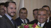 Ali Rıza Alaboyun bakanlık görevini Berat Albayrak'a devretti