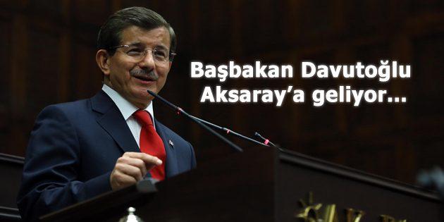 Başbakan Davutoğlu, 'teşekkür' için geliyor