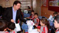Başkan Yazgı'dan öğrencilere anlamlı ziyaret