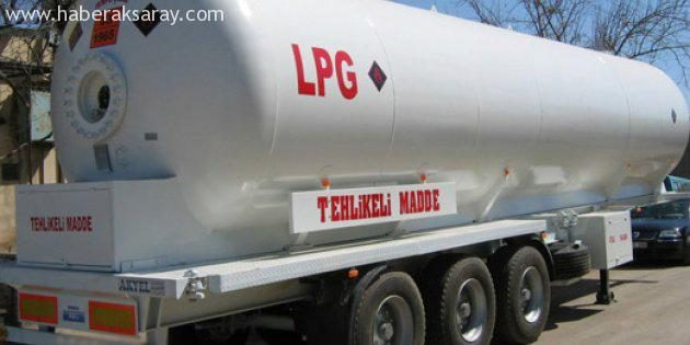 LPG tankerinde kaçak sigara