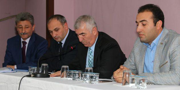 Mahalli İdareler Hizmet Birliği Meclis Toplantısı yapıldı