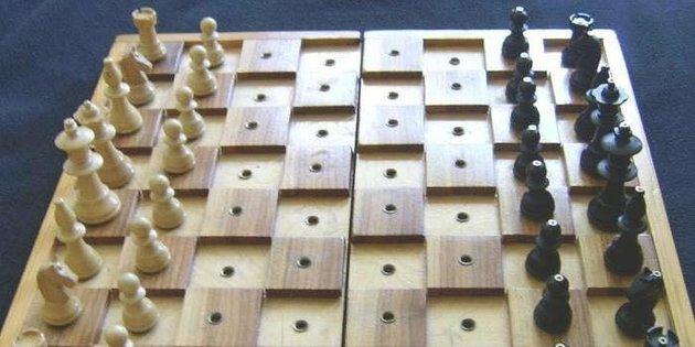 Görme engellilere satranç takımı hediye edilecek