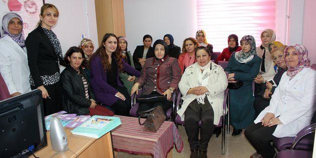 Kadın Platformu üyelerinden KETEM'e ziyaret