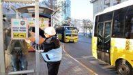 Otobüs duraklarına araç park edenlere ceza!