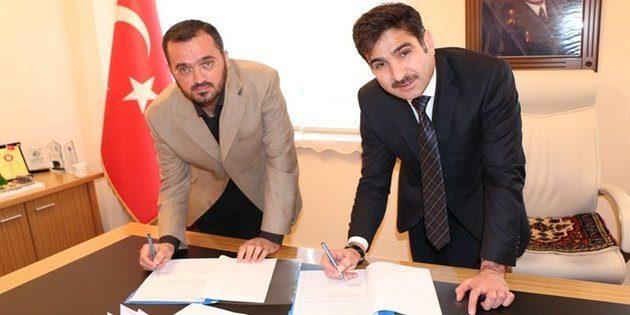 """Aksaray'da """"Yetim Destek"""" projesi imzalandı"""