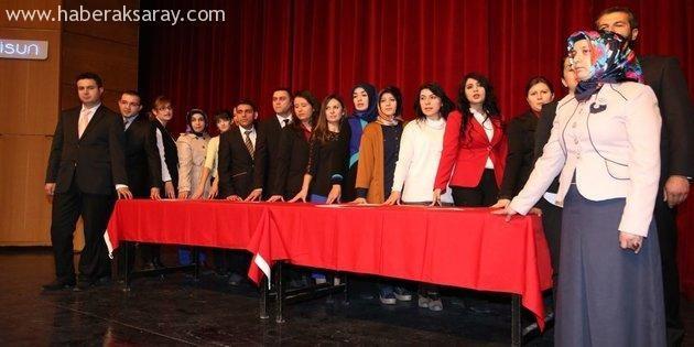 24 Kasım Öğretmenler Günü düzenlenen törenle kutlandı