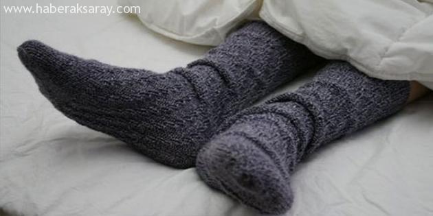 Gripken ıslak çorapla uyuyun!