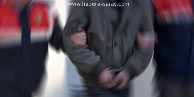 Jandarma'dan silah operasyonu: 1 kişi tutuklandı