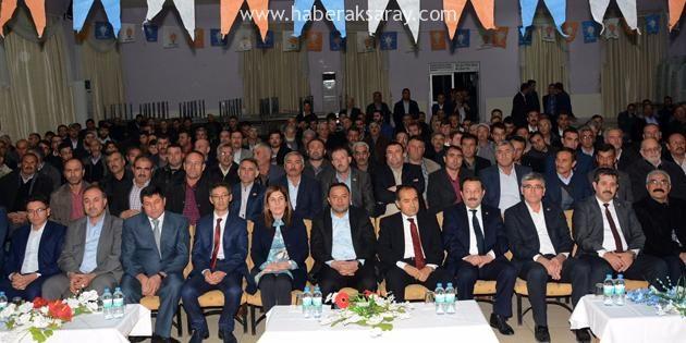 AK Parti'den Eskil İlçesi'ne teşekkür ziyareti