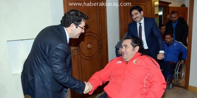 Engelli Dernekleri Başkan Yazgı'yı ziyaret etti