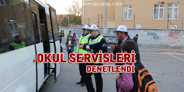 Okul Servisleri Denetlendi
