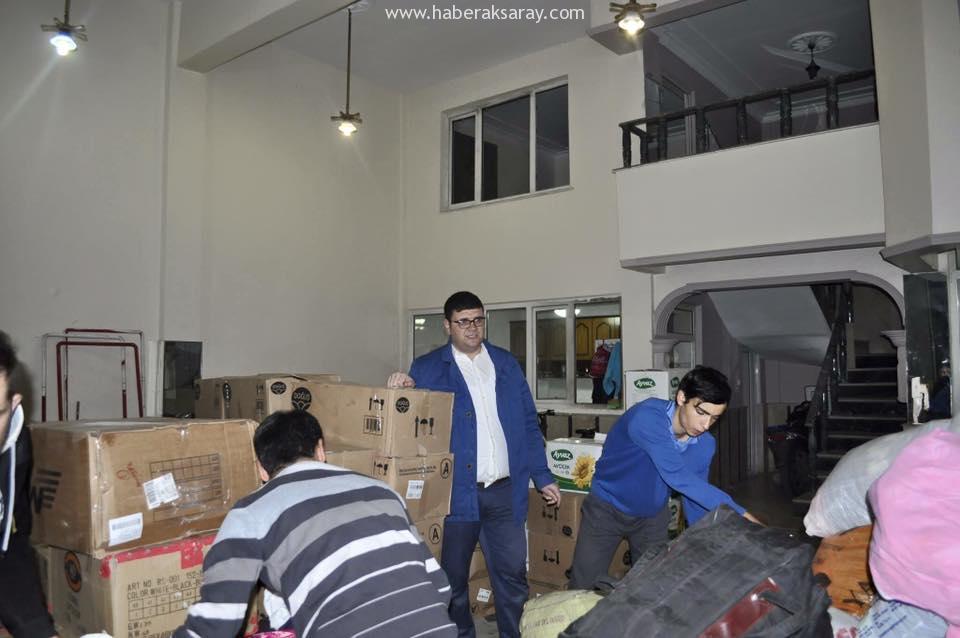 Aksaray Ülkü Ocakları Bayır Bucak Türkmenlerine Yardım