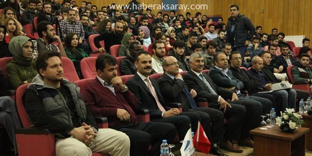 Mühendislik Fakültesi'nde eğitim konferansları sürüyor