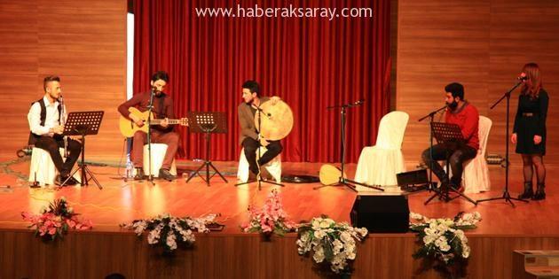 'ASÜ İçin Çal' grubu öğretmenler için sahneye çıktı