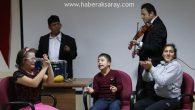 Engelli öğrenciler ASÜ'de yeteneklerini sergiledi