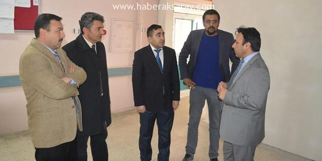 Durgut, Gülağaç Devlet Hastanesini denetledi