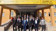 İGM Başkanı Tüzün, Abdulhamid Han Fen Lisesi'ni ziyaret etti