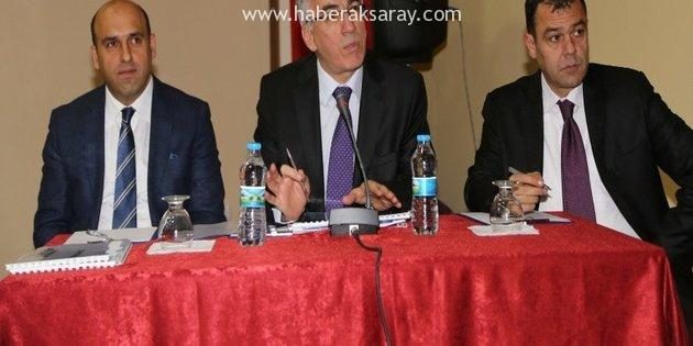 Bilgilendirme ve değerlendirme toplantısı Ortaköy İlçesinden başladı