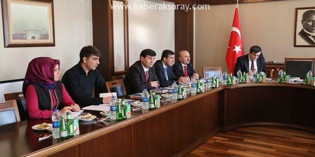 UNİKOP Genel Sekreterleri ASÜ'de toplandı