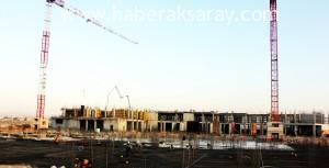 Yeni hastane inşaatı hızla devam ediyor