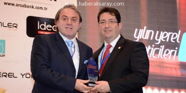 """Belediye Başkanı Yazgı """"Yılın Yerel Yöneticisi"""" seçildi"""