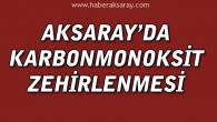 Aksaray'da 2 kişi karbonmonoksit gazından etkilendi