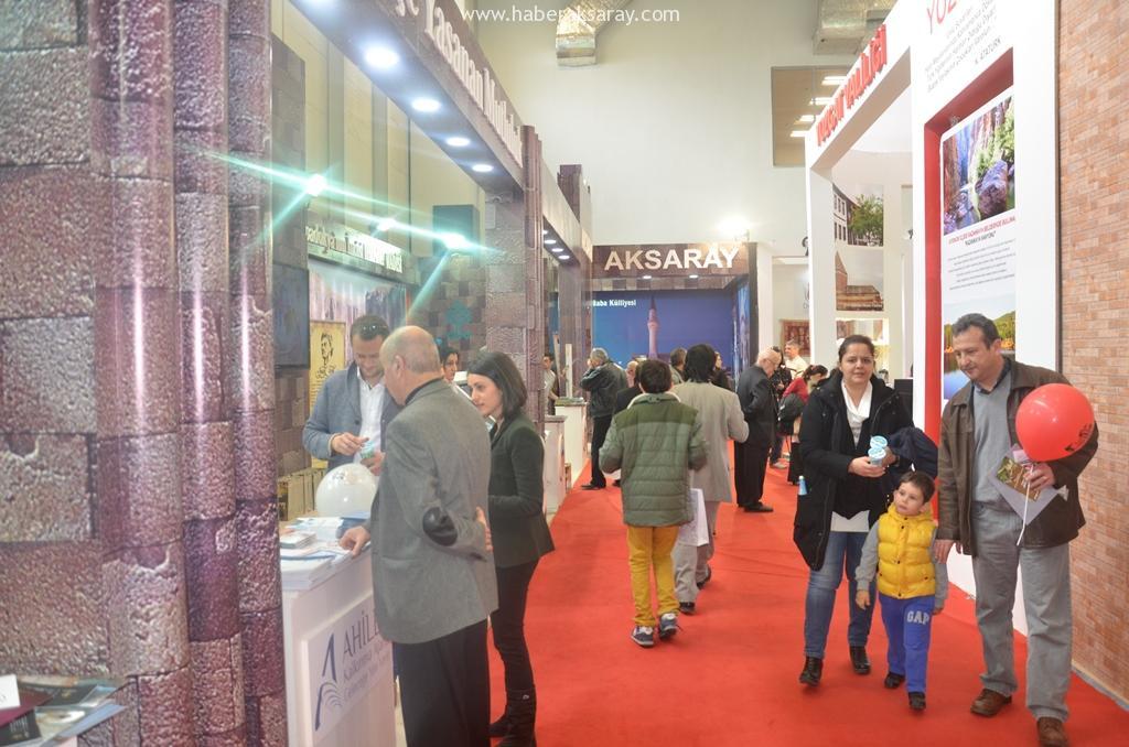Aksaray Turizm Fuarı'nda tanıtılıyor
