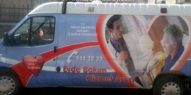 Aksaray'da evde bakım hizmetleri ağı genişliyor