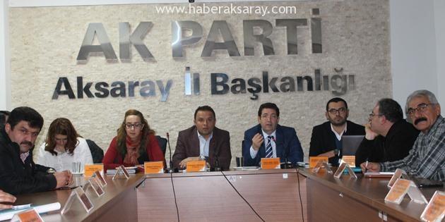 Yazgı, Ak Parti Yönetim Kurulu Toplantısına katıldı
