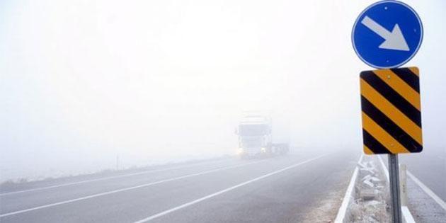 Aksaray'da kar yağışı ulaşımı olumsuz etkiledi