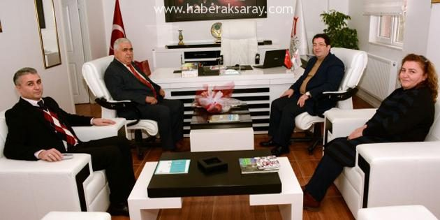 Başkan Yazgı'dan Aktürk'e hayırlı olsun ziyareti