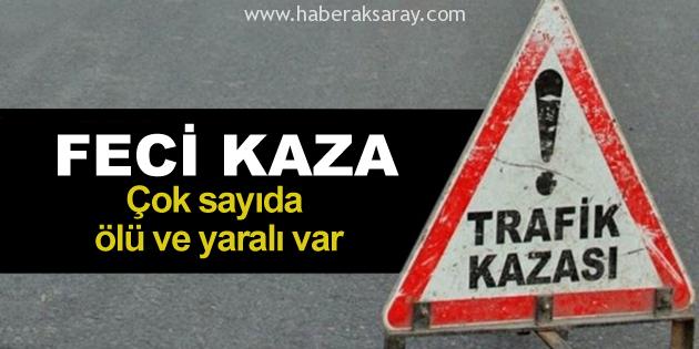 Ankara yolunda feci kaza: Çok sayıda ölü ve yaralı var