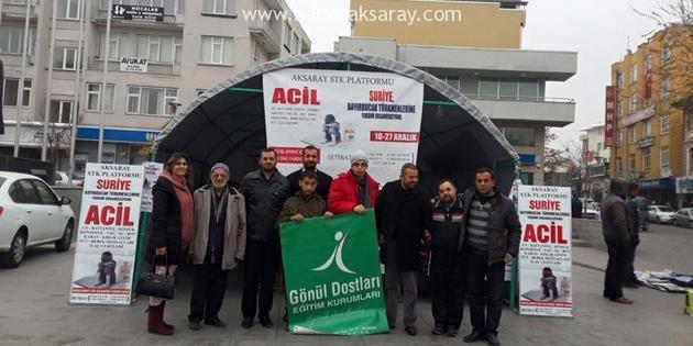 Engellilerden Suriyeli Yetimlere anlamlı destek