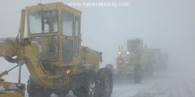 Özel İdare karla mücadele ekipleri aralıksız çalışıyor