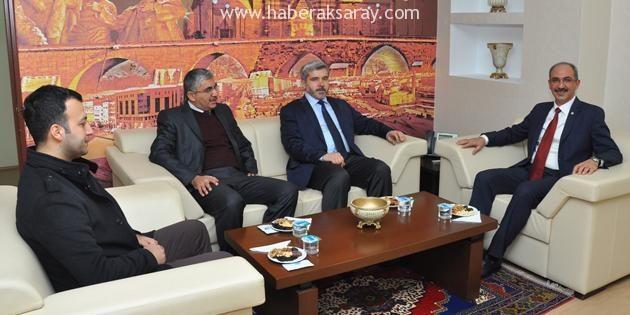 Rektör Şahin'den üniversitelere işbirliği ziyaretleri