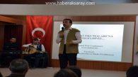 Mehmet Akif'in Hayatı ve Safahatı öğrencilere anlatılıyor