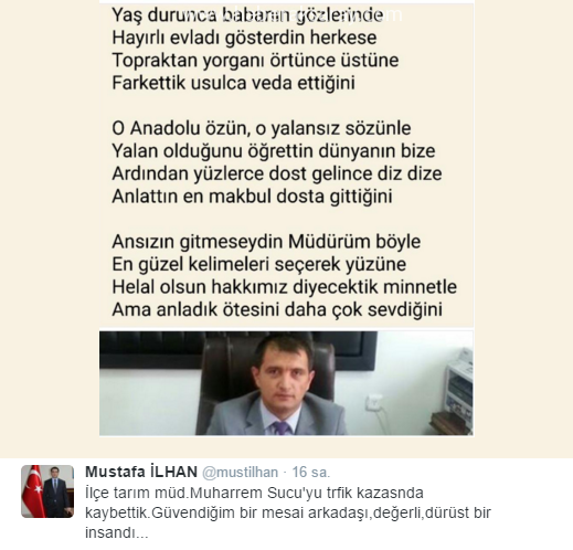 Mustafa İlhan Şiir