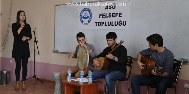 'Türkü ve Şiirlerle Anadolu' etkinliği gerçekleştirildi