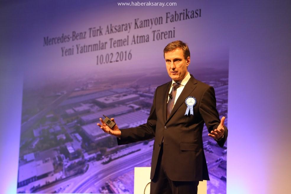 Mercedes Benz Türk Fabrikası'nda temel atıldı