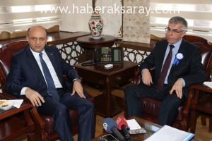 Bilim, Sanayi ve Teknoloji Bakanı Fikri Işık Aksaray'da