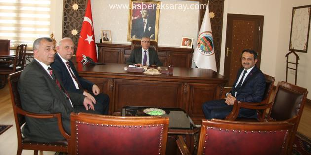 BYEGM Konya İl Müdürü Paslı'dan Vali Ataklı'ya ziyaret