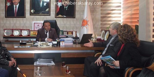 Show Fuar'dan AK Parti İl Başkanı Karatay'a ziyaret