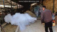 Aksaray Belediyesi haşerelere karşı mücadele başlattı