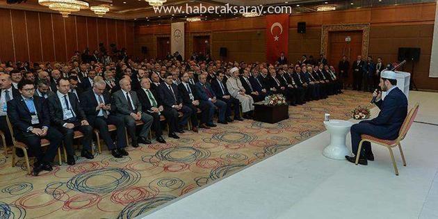 Müftü Bal, 32'nci İl Müftüleri İstişare Toplantısına katıldı